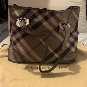 BURBERRY LIMITED EDITION TOTE BAG